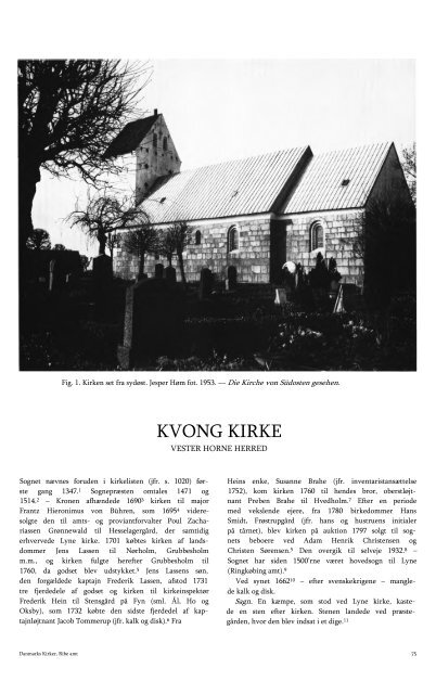 KVONG KIRKE - Danmarks Kirker