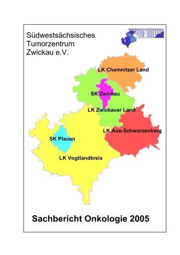 Sachbericht Onkologie 2005 - Tumorzentrum Chemnitz eV