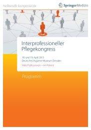 Kongressprogramm (PDF) - Heilberufe