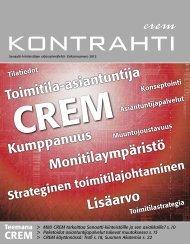 CREM-numero/2012 - Senaatti-kiinteistöt