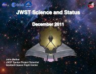 nm RMS SFE - James Webb Space Telescope - NASA