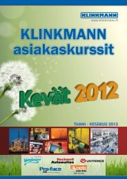 Tammi – KesäKuu 2012 - Klinkmann.
