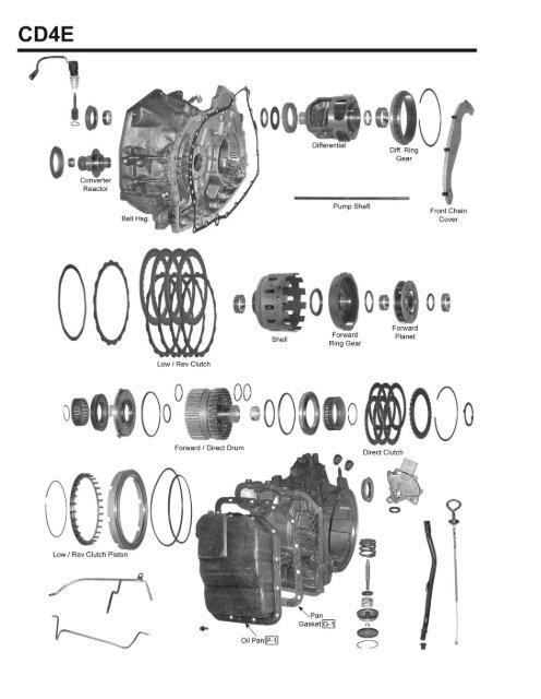 cd4e diagram all wiring diagram CD4E Transmission Parts