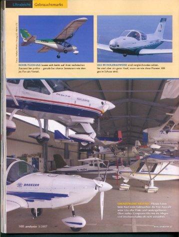 Checklisten zum Gebrauchtflugzeugkauf