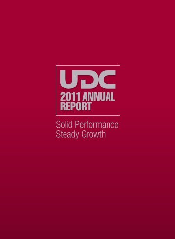 Annual Report 2011 - United Development Company