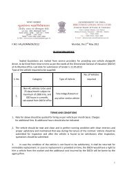 Quotation Notice - Directorate General of Valuation