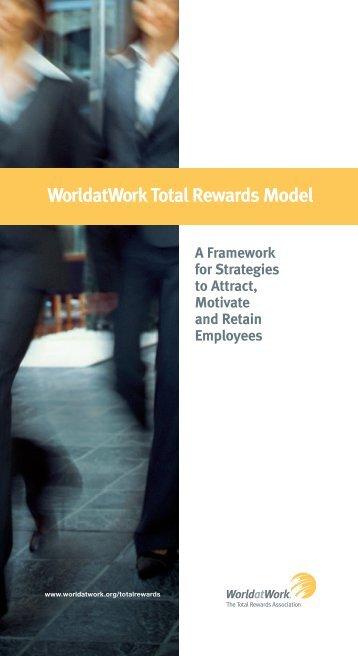 WorldatWork Total Rewards Model - Alliance for Work-Life Progress