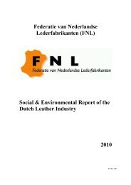 Netherlands - Report Of the Dutch Leather Industry