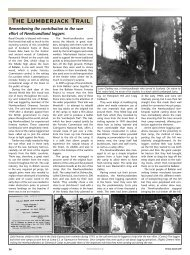 Newfoundland Loggers - Forestry Journal