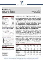 Norske Skog - Fondsfinans