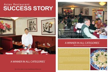 SUCCESS STORY - Asia Oriental Cuisine Chinese Restaurant