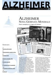 Notiziario 23 - Alzheimer Italia