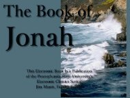 The Book of Jonah, the Thirty-second Book of the King James
