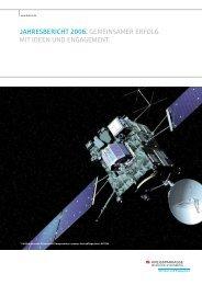 jahresbericht 2006. gemeinsamer erfolg mit ideen und engagement.