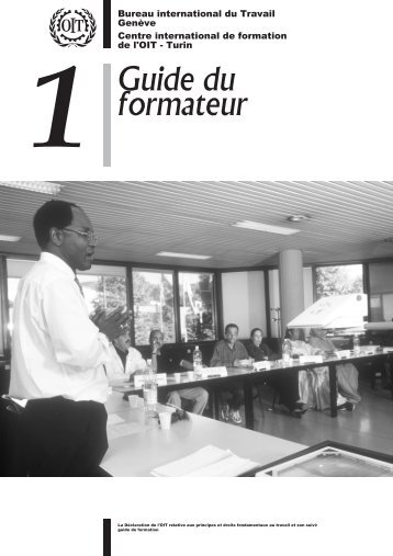1. Guide du formateur - Training.itcilo.it