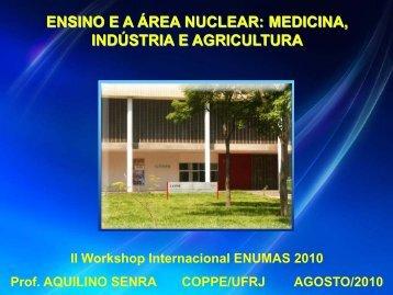 ensino ea área nuclear: medicina, indústria e agricultura - Nipe