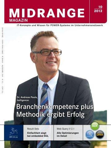 Branchenkompetenz plus Methodik ergibt Erfolg - Midrange Magazin