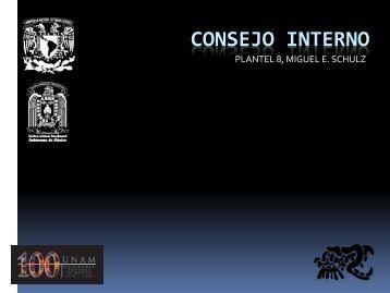 Conformación de Consejo Interno - ENP 8