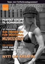 Last ned magasinet som PDF her... - Tech Nutrition