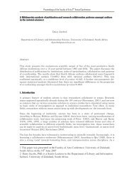 Proceedings of the Faculty of Arts 2nd Annual Conference 1 This ...