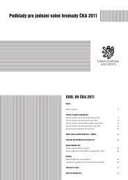 Podklady pro jednání valné hromady ČKA 2011 - Česká komora ...