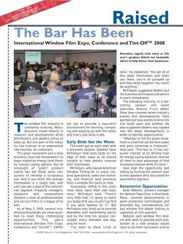 read article - USGlass Magazine