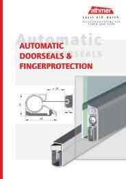 Automatic Doorseals And Fingerprotection | 06/2012 - Athmer