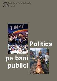Analiza Politica pe bani publici (aprilie 2004) - Valerian Stan