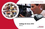 Catálogo de Cursos 2012 - Rockwell Automation