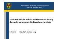 Vortrag - EV - kassenverwalter.de