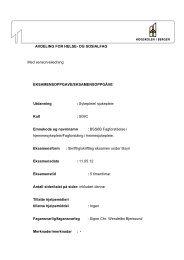 Sykepleie Sensorveiledning Fagforståelse i ... - For studenter