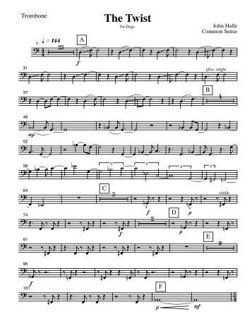 The Twist - Trombone.pdf - John Halle