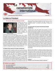 Hiver - Conseil international d'études canadiennes