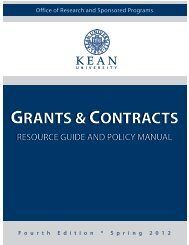 grants & contracts grants & contracts - Office of Research and ...