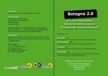 Bologna 2.0 - Franziska Brantner