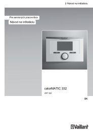 navod-na-instalaciu-calormatic-332 (0.74 MB) - Vaillant