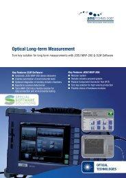 Optical Long-term Measurement - AMS Technologies