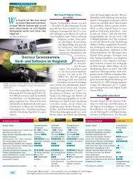 Digitale Tachographen: Hard- und Software im Vergleich