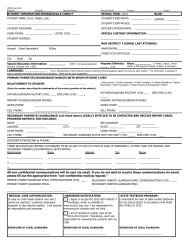Registration Forms - Edwardsville School District 7