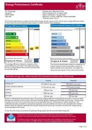 Energy Performance Certificate - Internet Solutions Services Ltd