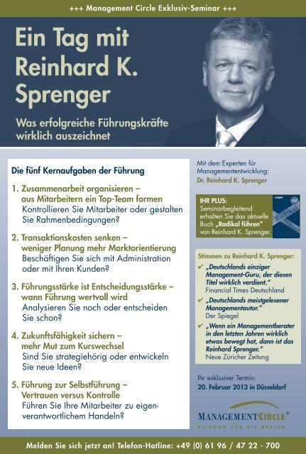 Inh alt - Management Circle AG