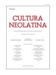 estratto - Dipartimento di Filologia Moderna