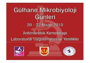 Yeni Antibakteriyeller - Prof. Dr. Ayşe Willke Topçu
