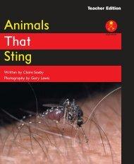 L16 TEpp Animals That Sting
