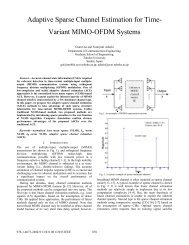 Adaptive Sparse Channel Estimation for Time-Variant MIMO-OFDM ...