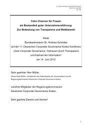 Rede Bundesministerin Dr. Kristina Schröder, MdB