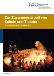 Zur Zusammenarbeit von Schule und Theater - Institut für Pädagogik