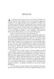 prefazione 11..14 - Istituto Lombardo Accademia di Scienze e Lettere
