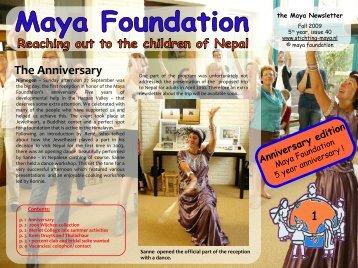 Dia 1 - Stichting Maya