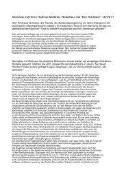 Interview Richter 26.3.11.rtf - ADEW | Arbeitsgemeinschaft Deutsche ...